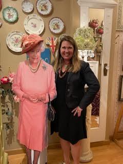 Marilyn meets the Queen