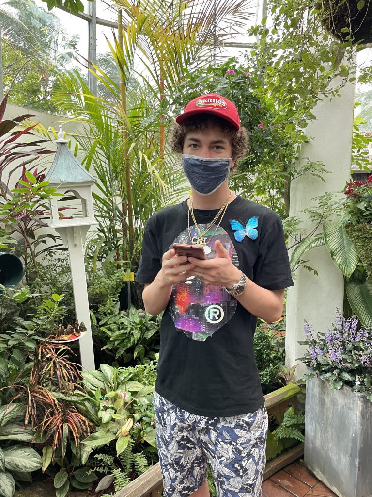 Clay at the butterfly museum