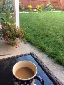 weekend vibes- morning coffee