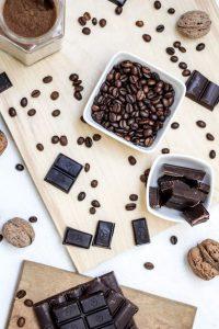 Coffee Beans on Desk